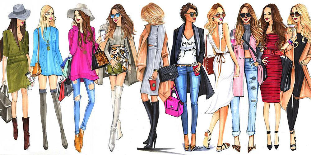 Fashion+Illustrations+of+street+fashion+bloggers+by+houston+fashion+illustrator+Rongrong+DeVoe